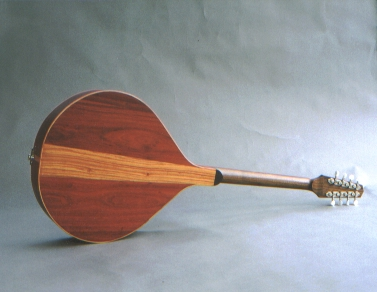 Flat Top Bouzouki, Padauk Tulipwood Walnut