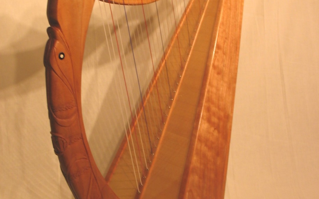 Mary Kate Historical Harp